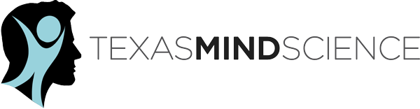 Texas Mind Science text graphical illustration logo